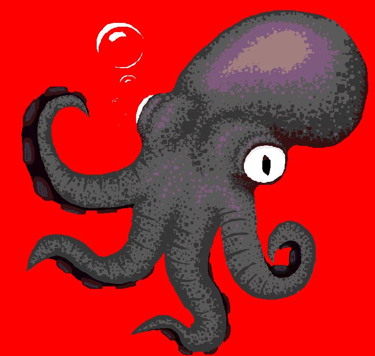 Trashpaint Squid