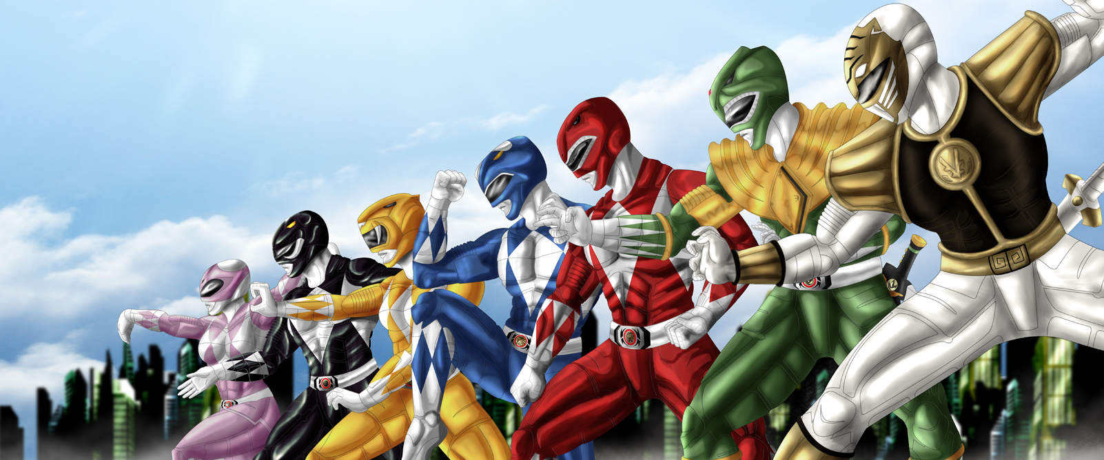 Mighty Morphing Power Rangers