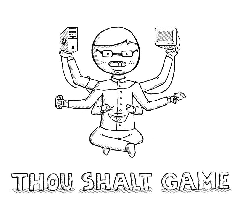 Thou Shalt Game