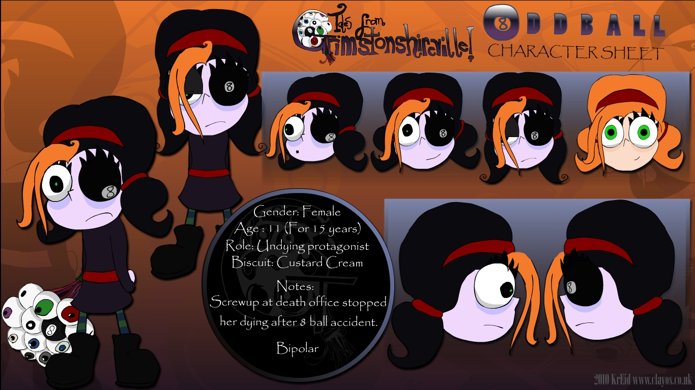 Oddball Character Sheet