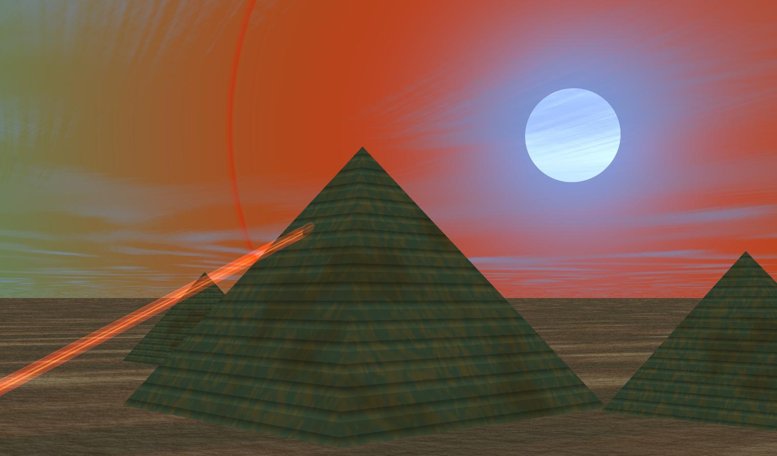 At Giza: ANCHUNT EJIPSHUN