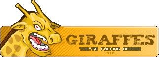 Giraffes are Fucking Badass