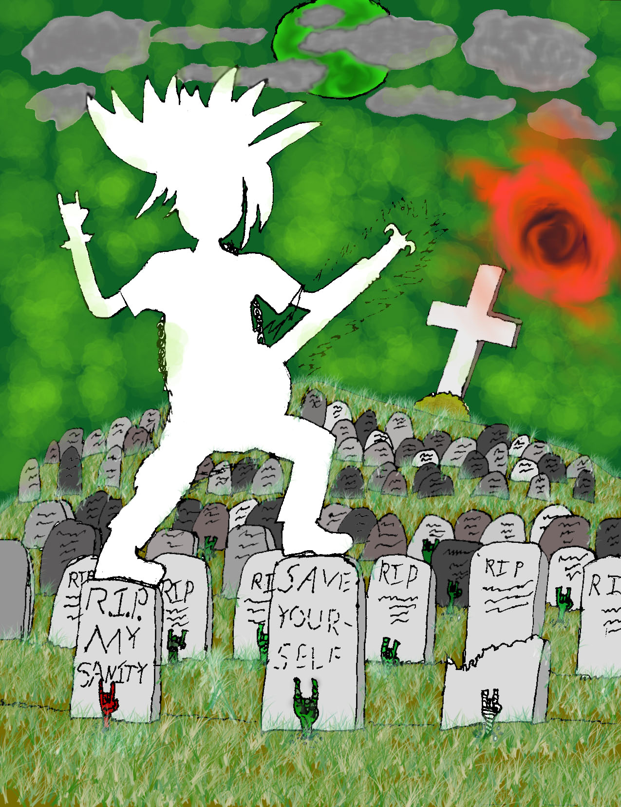 The Graveyard (Background)