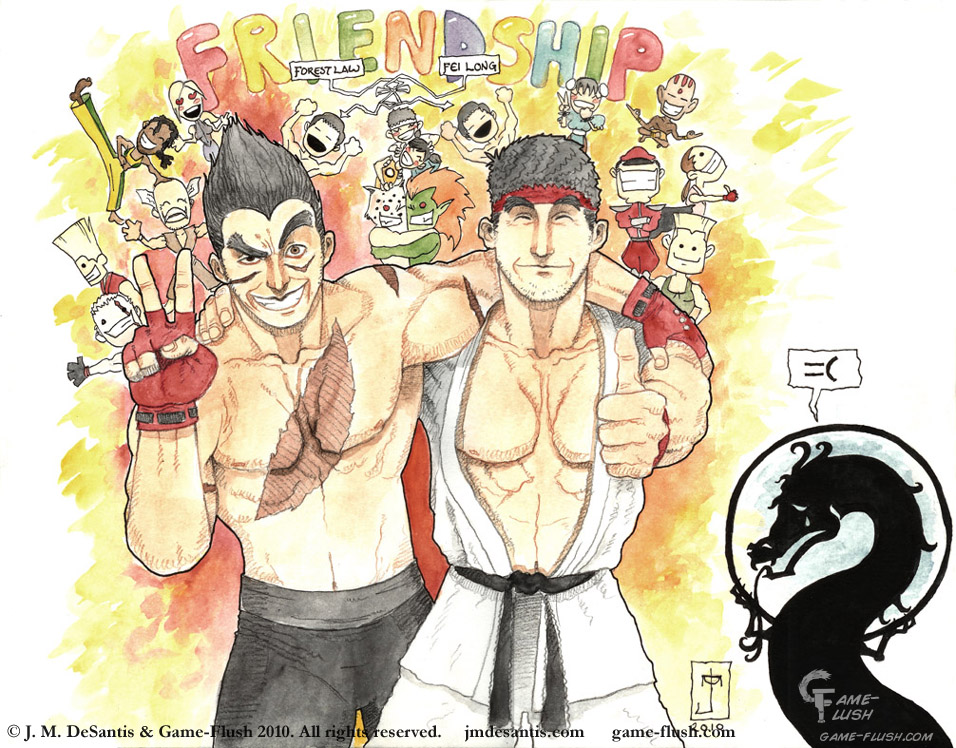 SF X Tekken Friendship