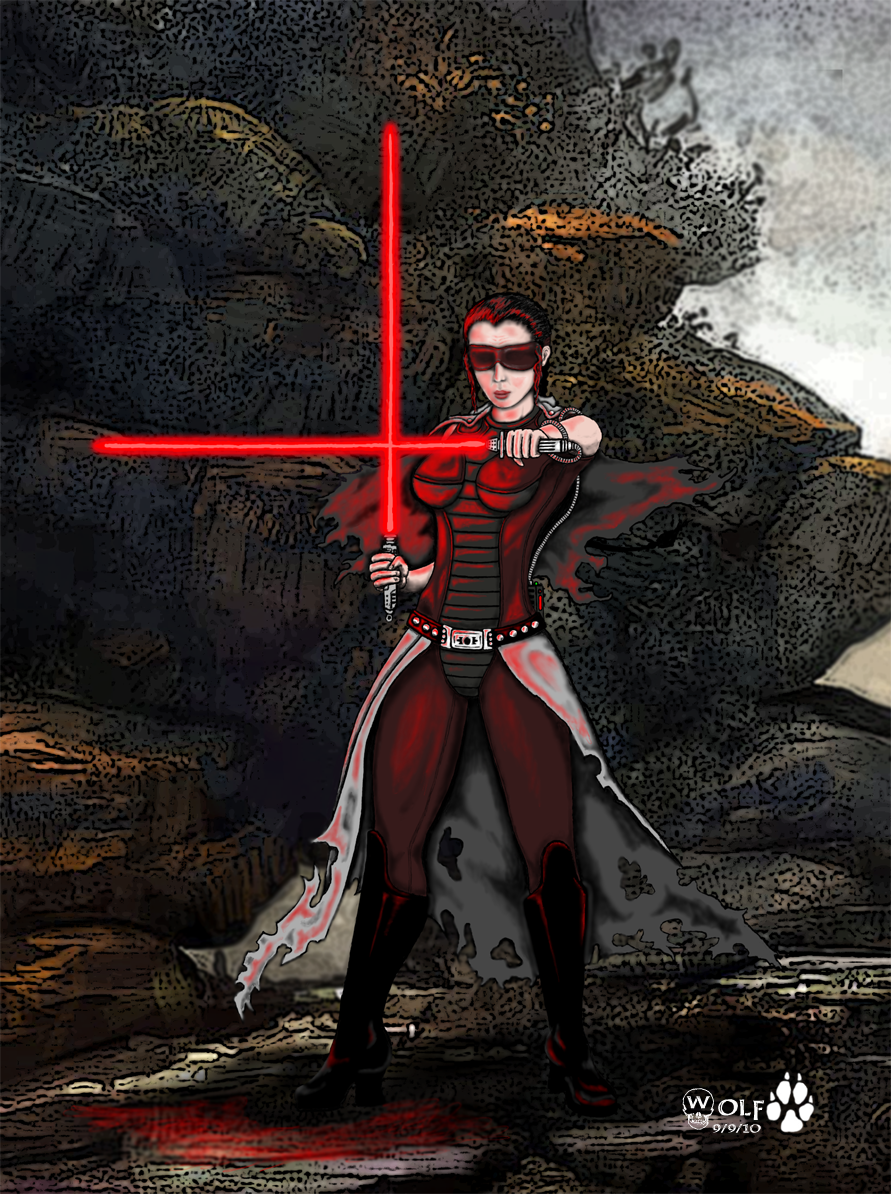 Miraluka Sith Lord - (Request)