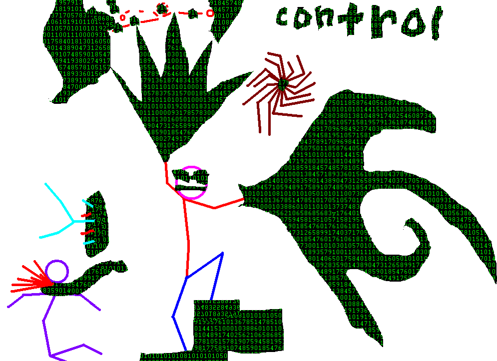 When sticks have control...
