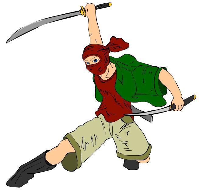 Plain Clothes Ninja