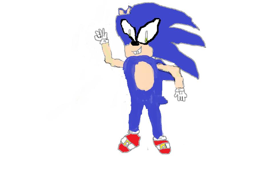 Sonic the Hedgehog 1st ART