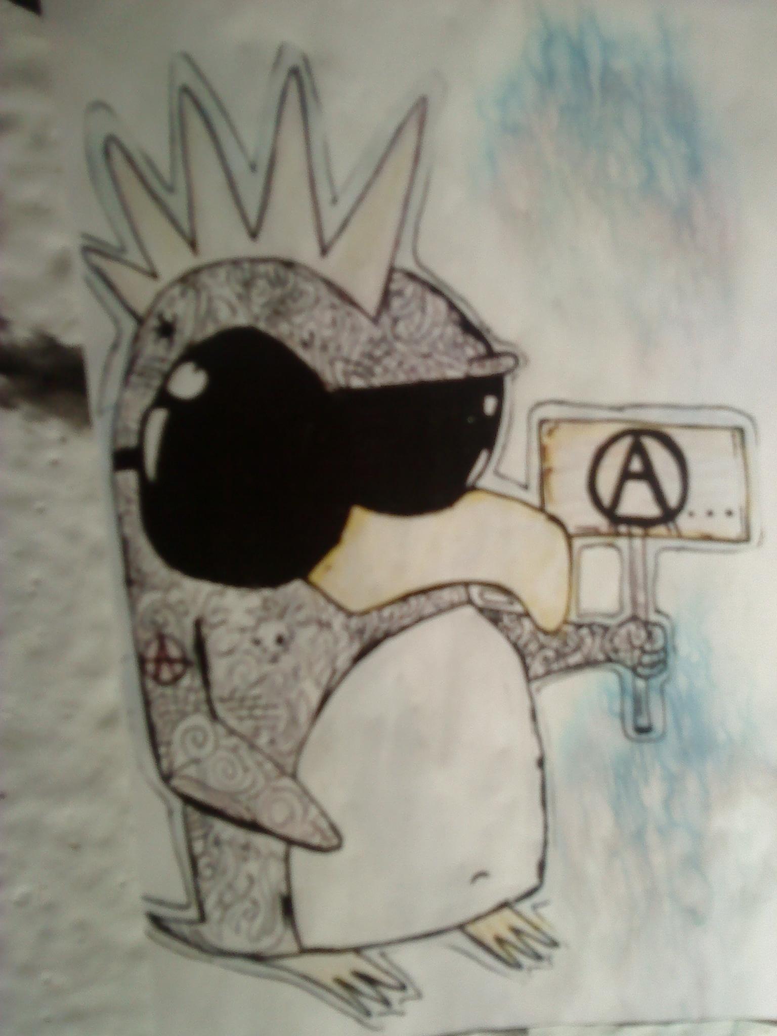 `punky penguin