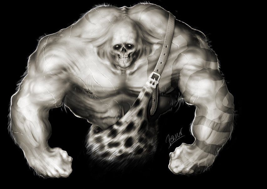 Undead Barbarian Zombie monste