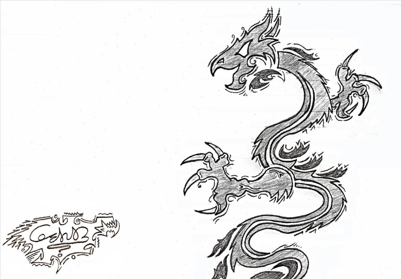 White Dragon {Pencil Art}