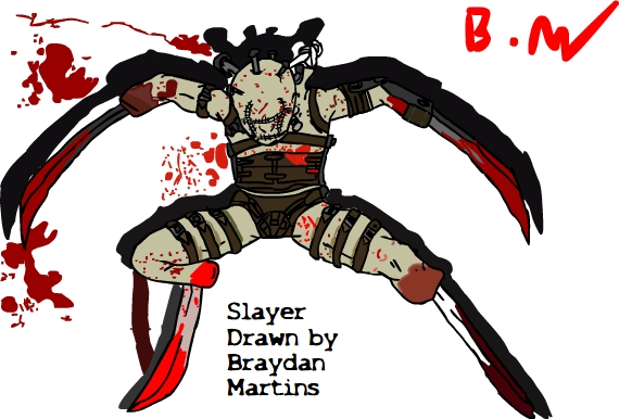 Slayer From The Suffering V1