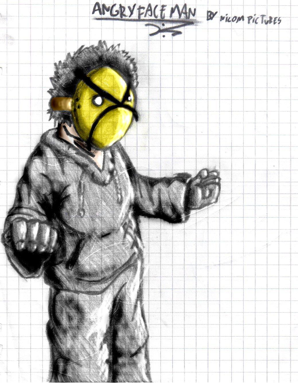 Angry Faic man