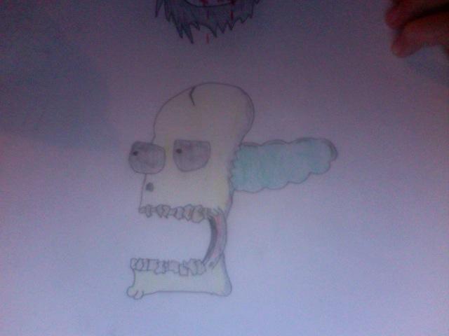 A Skull I Drew.