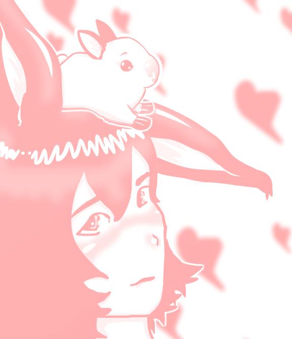 Happy Birthday White Bunny