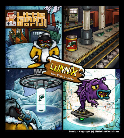 Lunnix story page one