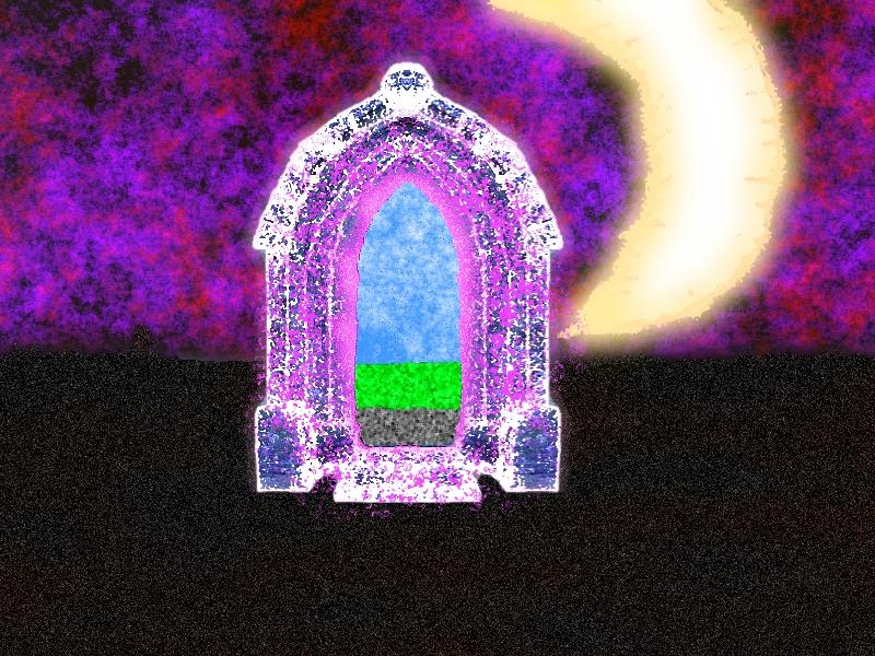Violet Doorway