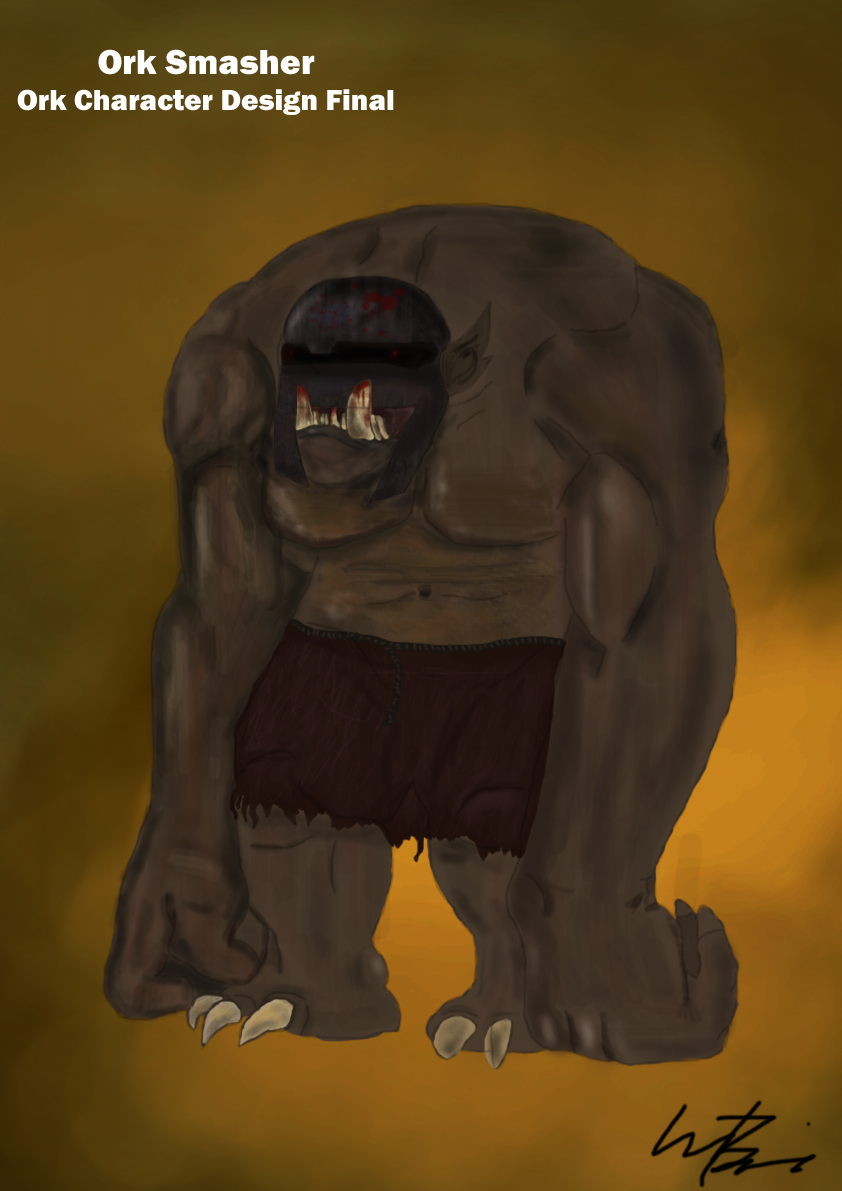 Ork Character Design