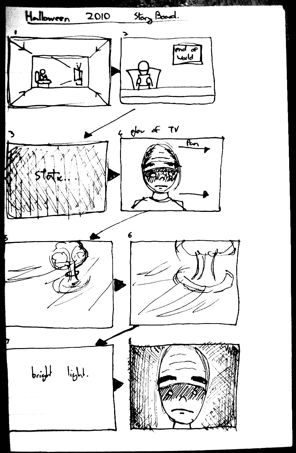 HALLOWEEN2010 Storyboards #01