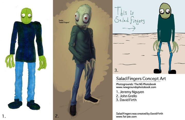 Salad Fingers Concept Art