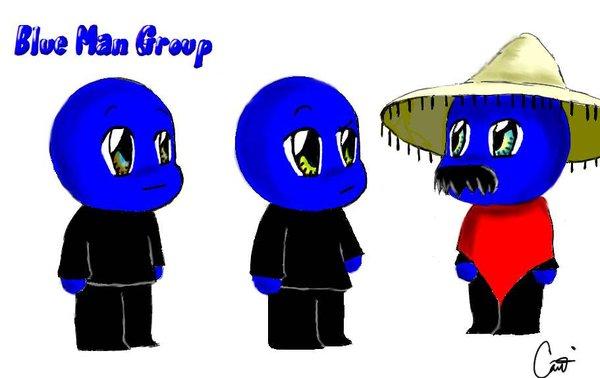 Blue Man Group...