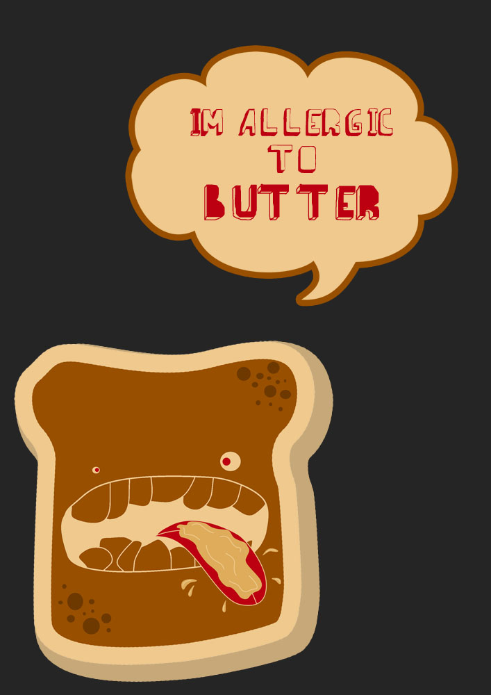 But i'm allergic to butter!