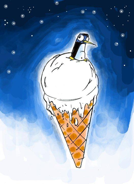 Ice Cream AND Penguin?