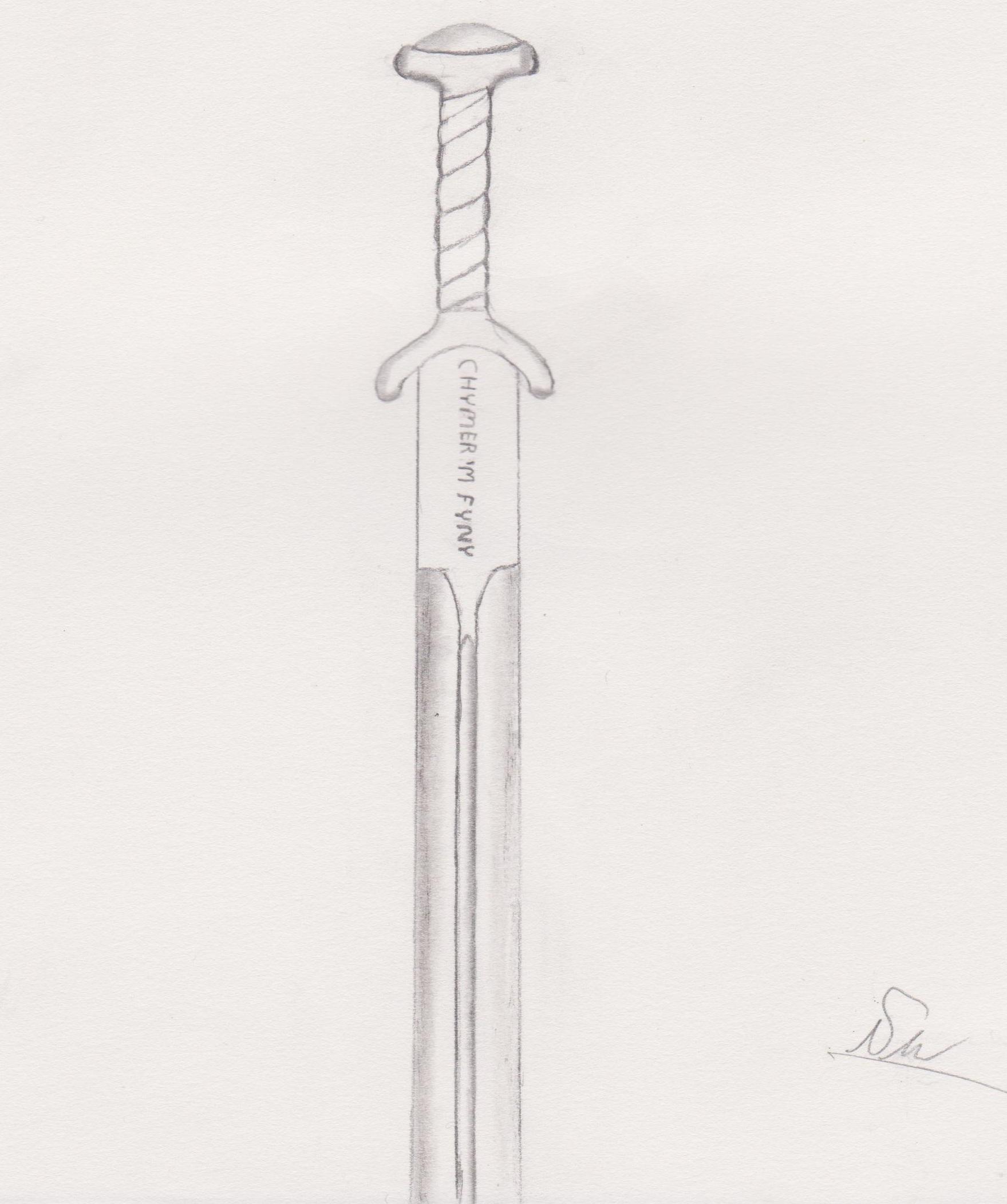 Caledfwlch Sketch