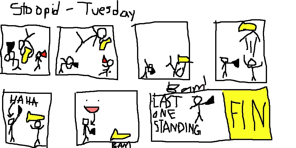 Stoopid Comic #3: Band Brawls