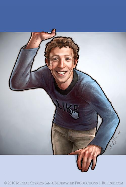 Mark Zuckerberg cover