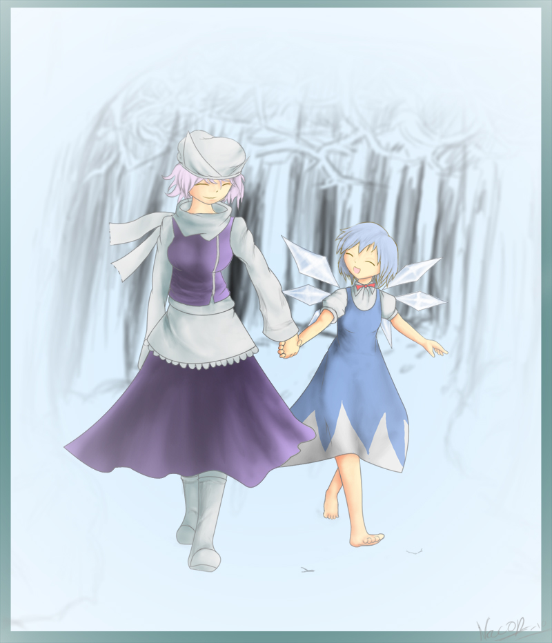 Touhou: Letty and Cirno