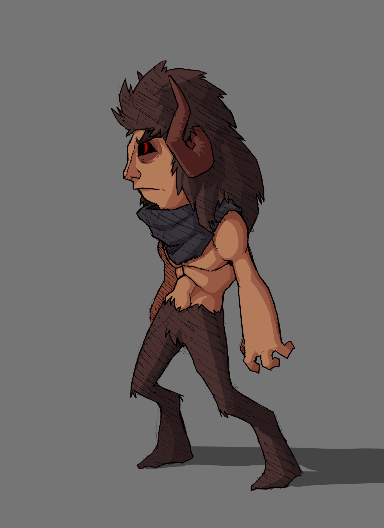 Evil Faun from Faun and Nymph