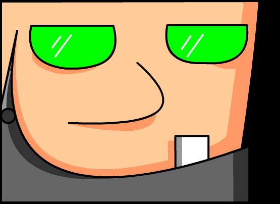 green eyes (?)