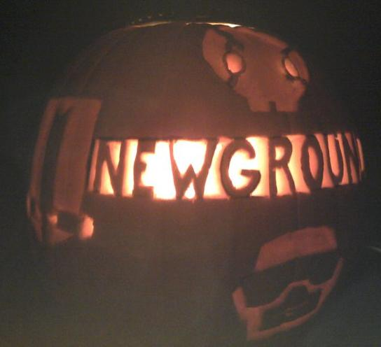 Newgrounds Pumpkin 2010