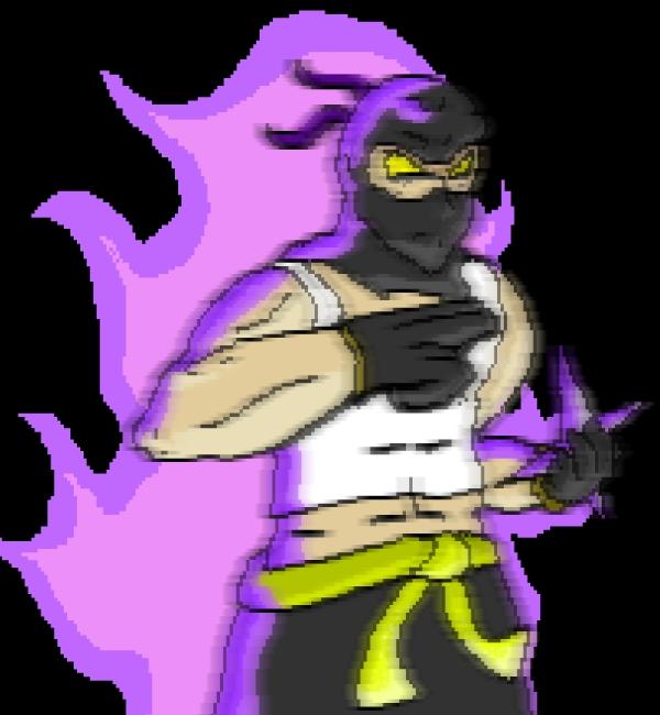 purple ninjaman