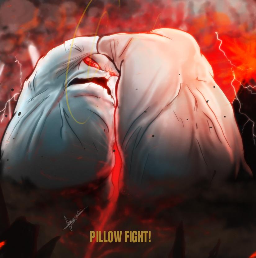 PILLOW FIGHT!!!