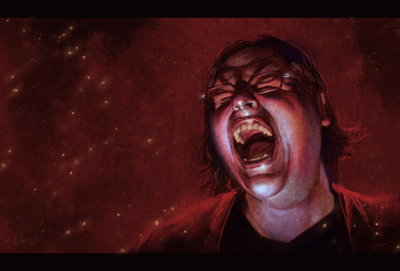 Self Portrait-Rage