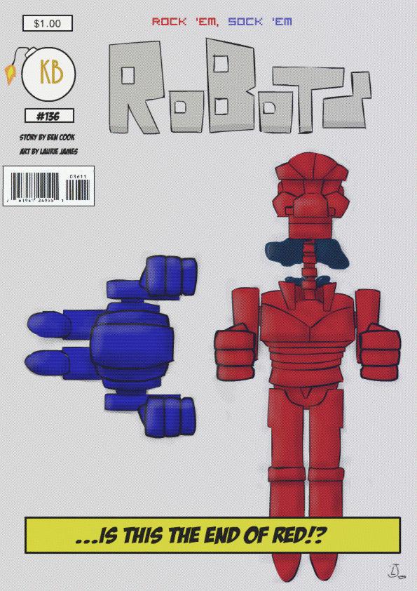 Rock 'em Sock 'em Robots Comic