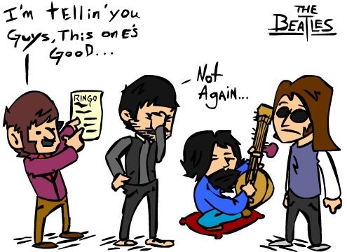 Dammit Ringo...