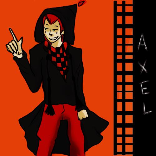 AxelHalloweenTown