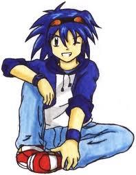 Human Sonic the Hedgehog