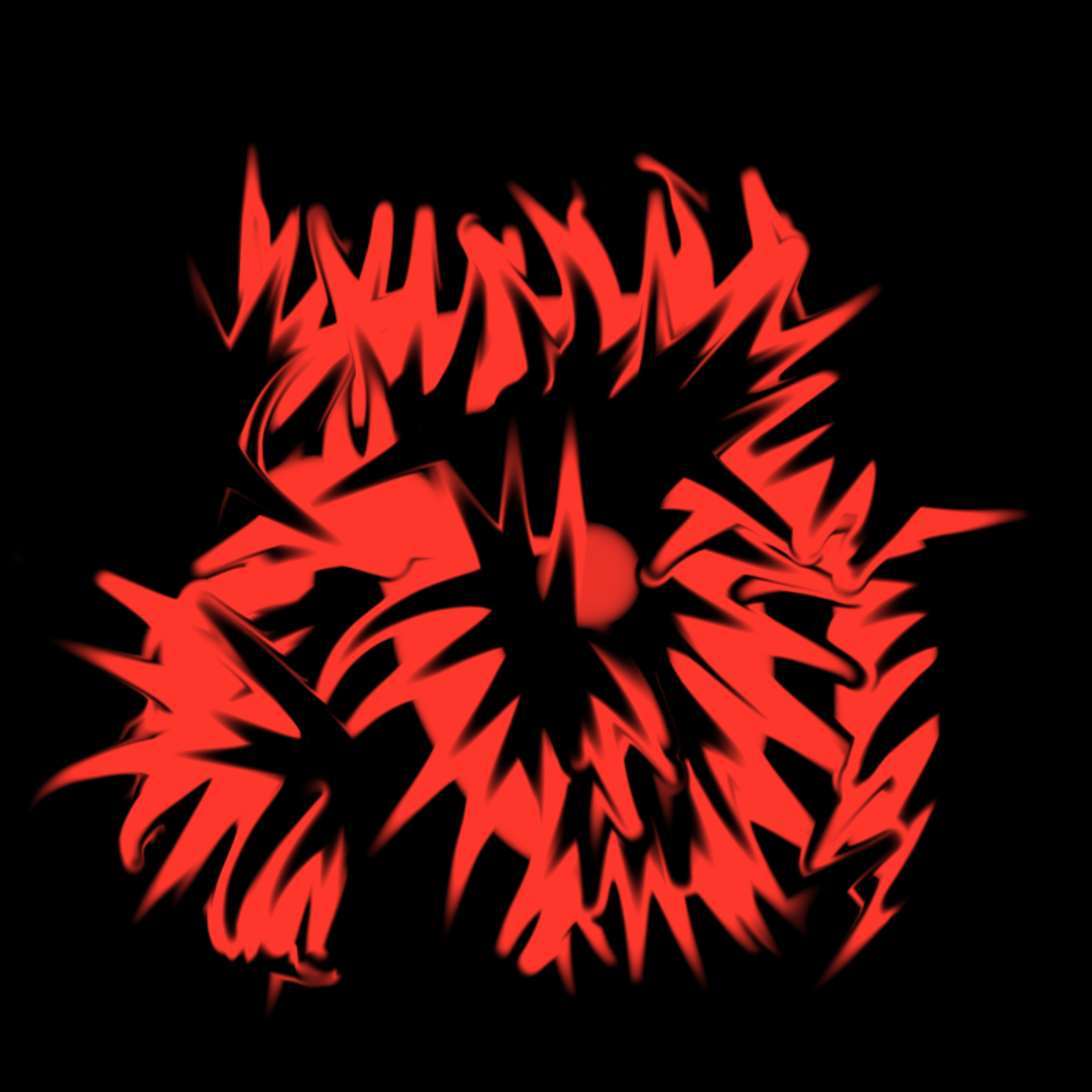 Abstract Red and Black v2