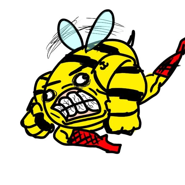 MAN BEE