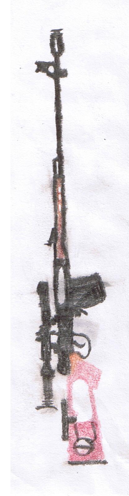 Dragunov Drawing