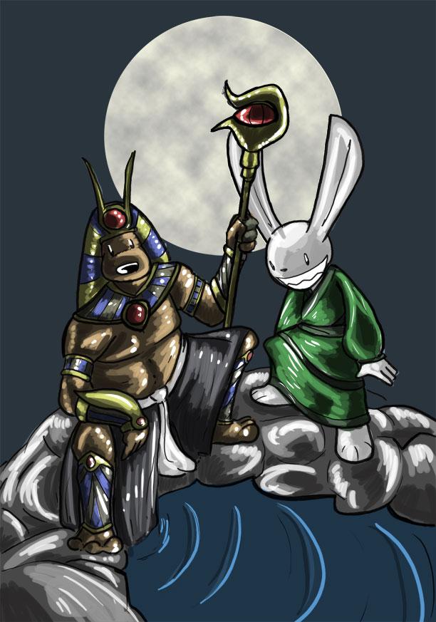SnM - Anubis and Jade Rabbit
