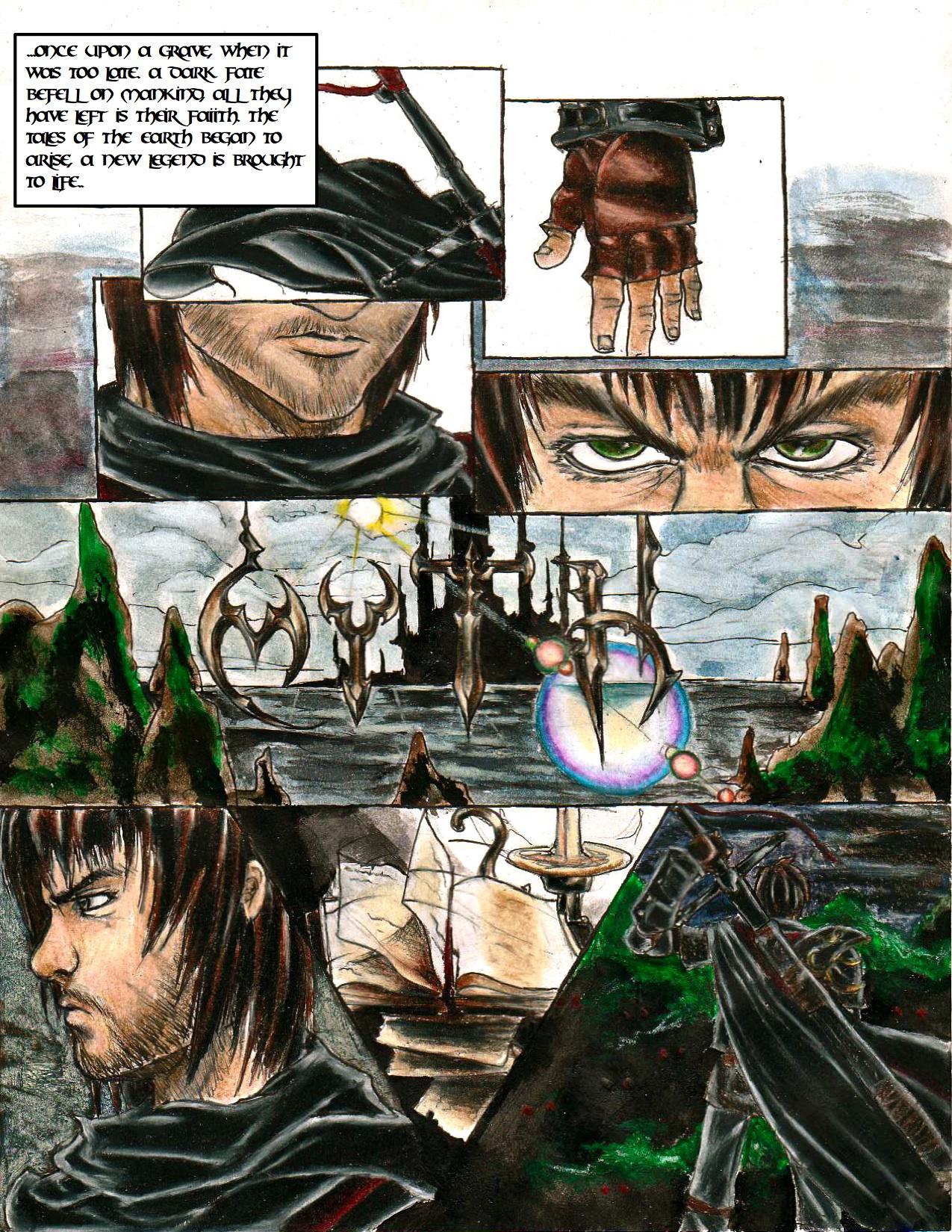Myth page 1