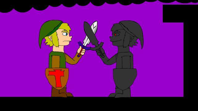 Link v.s Dark Link