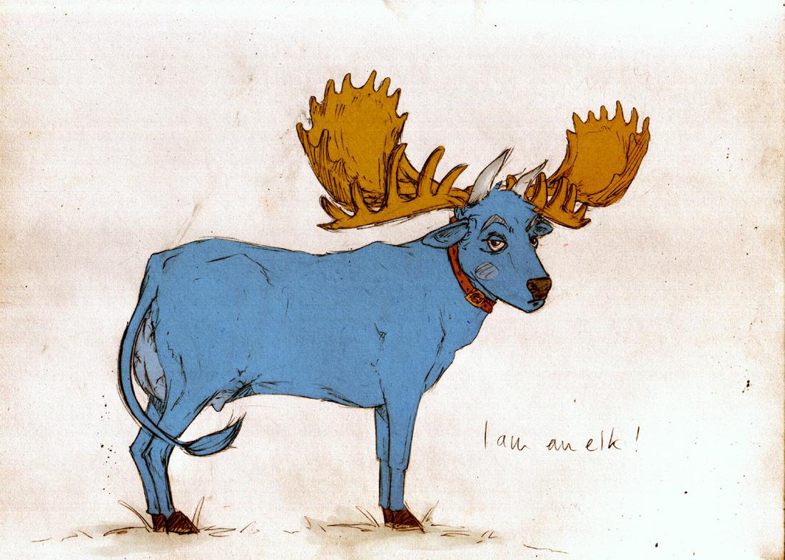 I am an elk