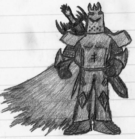Knight in Graphite