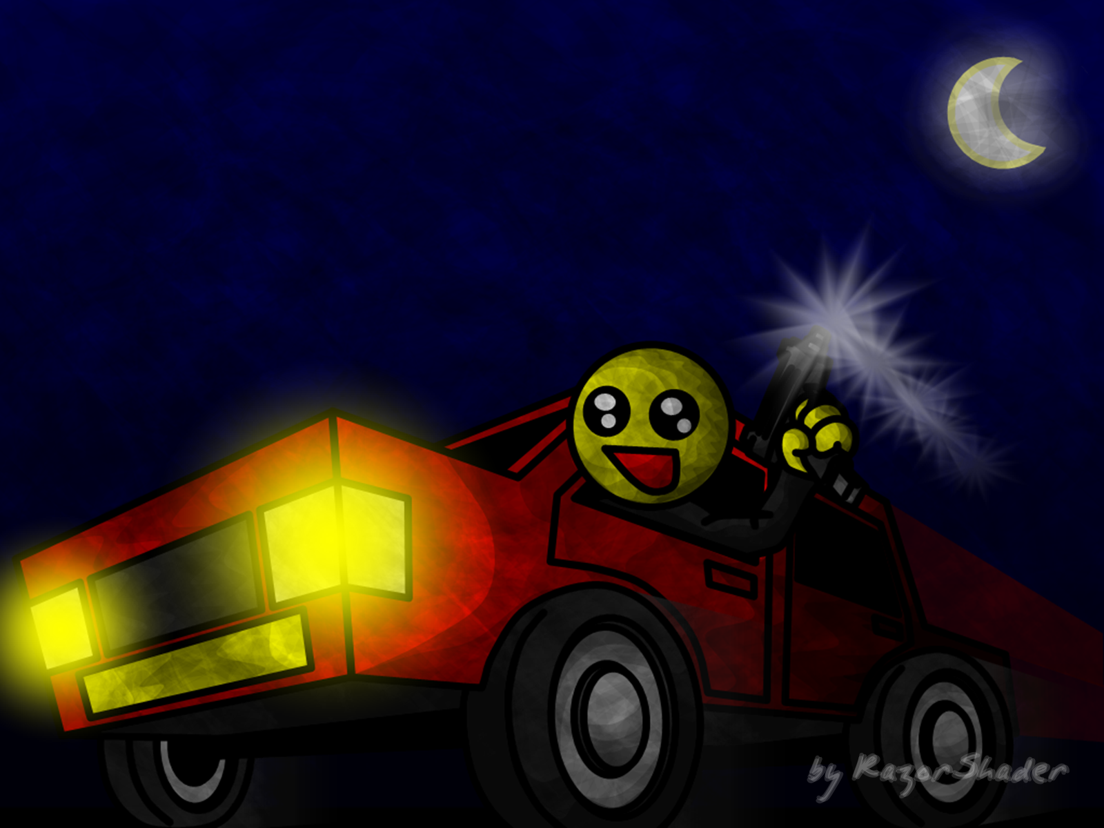Nocturnal drive-by